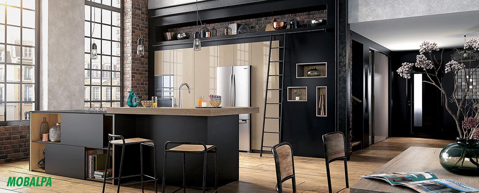 La cuisine industrielle vue par cuisinity cuisinity for Cuisine chic et moderne