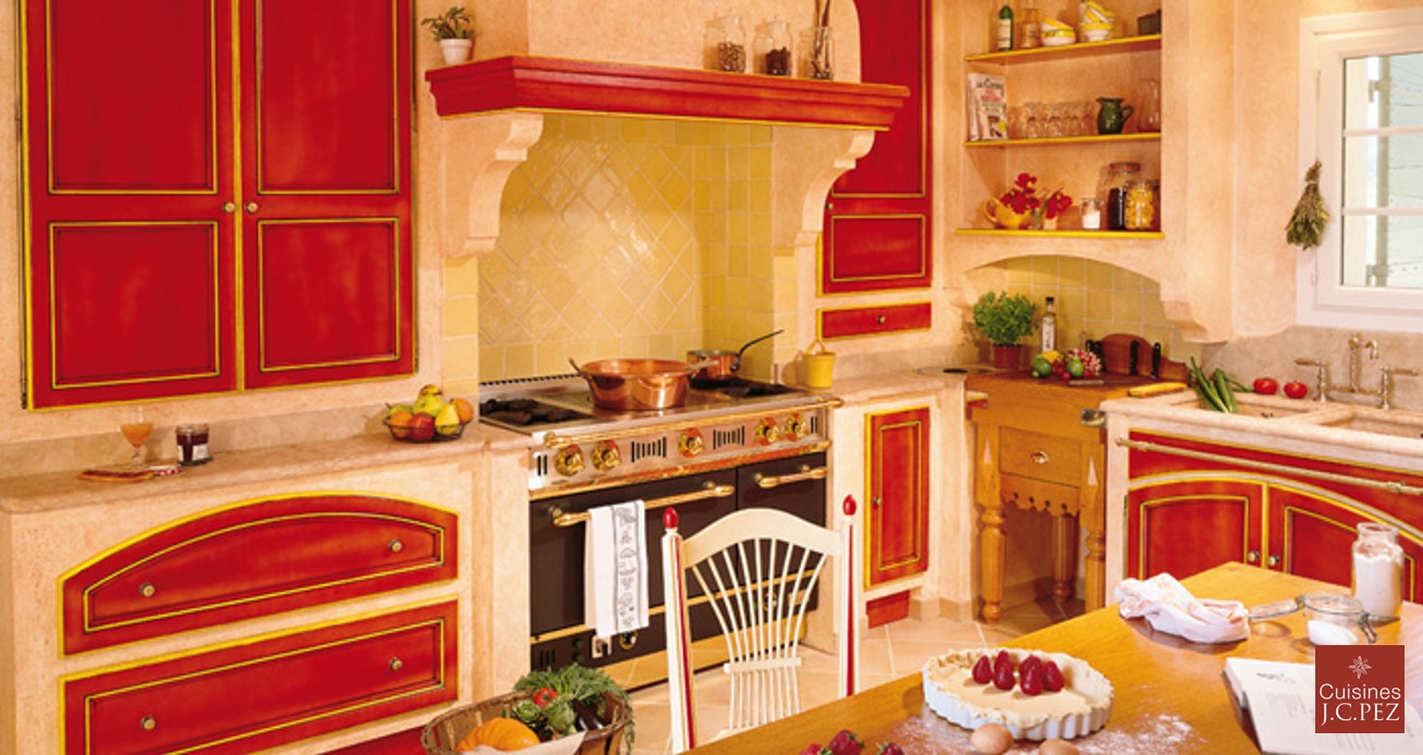 la cuisine provençale, vue par cuisinity - cuisinity - Cuisine Equipee Style Provencale