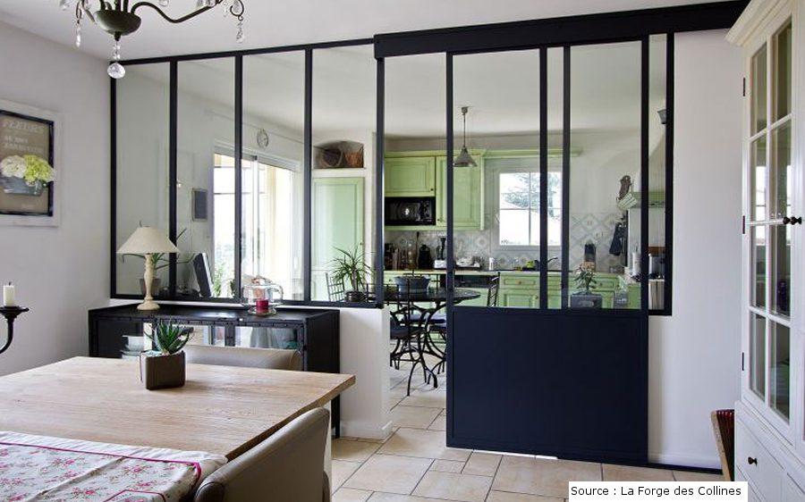 La verrière dans la cuisine, vue par Cuisinity - Cuisinity