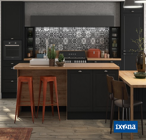 ixina cuisine cuisine ixina bleue ixina cuisine img les cuisines de notre showroom ixina. Black Bedroom Furniture Sets. Home Design Ideas