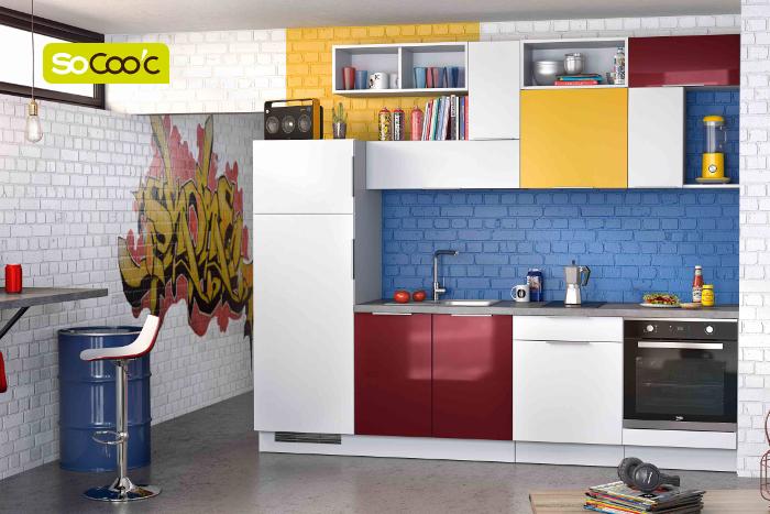 cuisines socooc 5 coups de c ur moins de 6 000. Black Bedroom Furniture Sets. Home Design Ideas