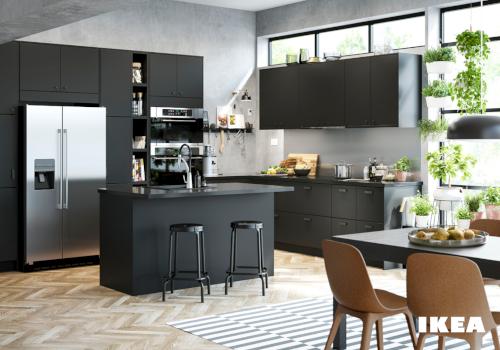 cuisine co responsable le mod le ikea kungsbacka. Black Bedroom Furniture Sets. Home Design Ideas